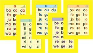 carta suku kata
