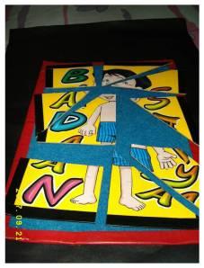 puzzle tubuh badan